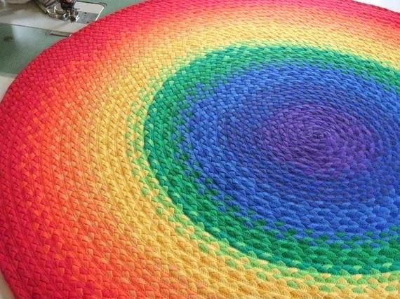 коврик - радуга