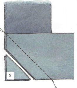 две сложенные полоски