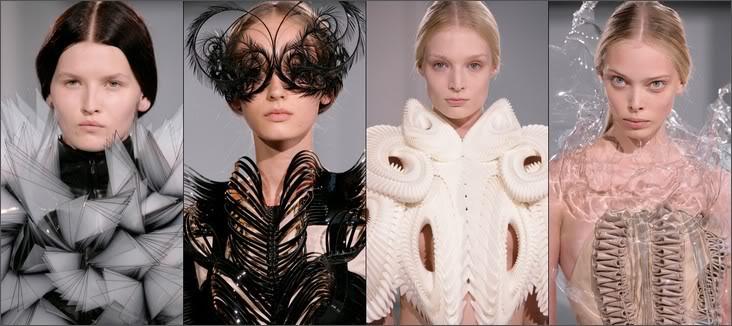 модели Iris Van Herpen