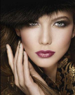 Образец вечернего макияжа от Dior