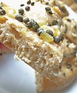 итальянский хлеб с каперсами и лимоном