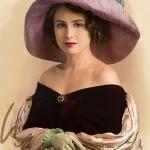 Женщина в шляпке