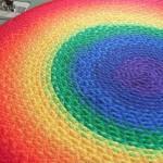 радужный коврик