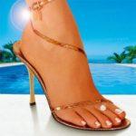 красивая ступня ноги