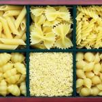 разные макароны к ящечке